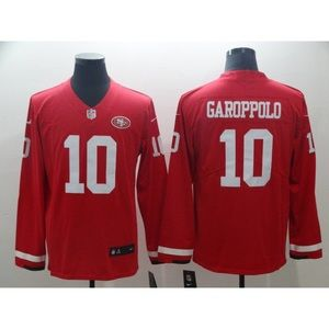 49ers Jimmy Garoppolo Long Sleeve Jersey